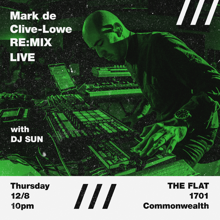 Mark De Clive-Lowe @ The Flat - Houston, TX