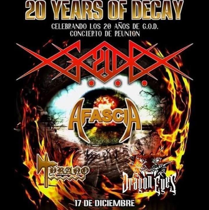 G.O.D Tour Dates