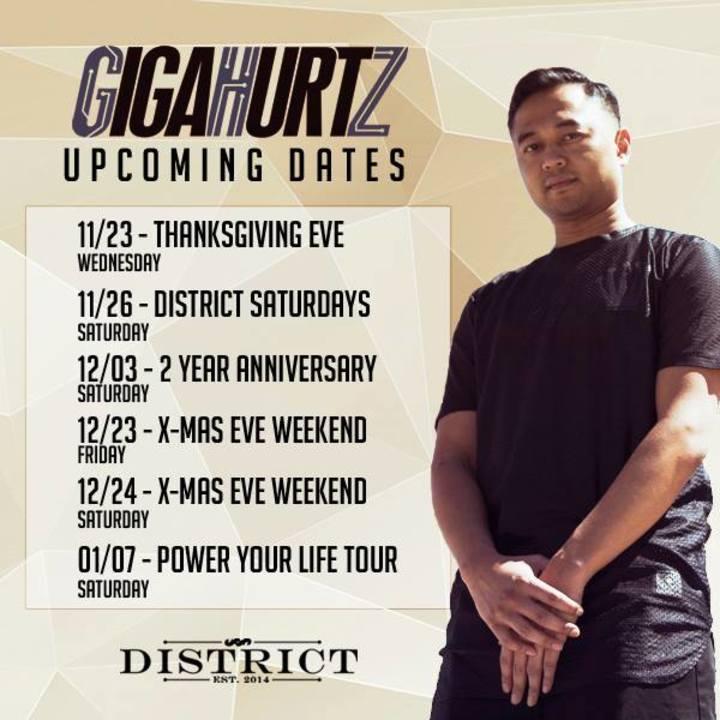 Dj Gigahurtz Tour Dates
