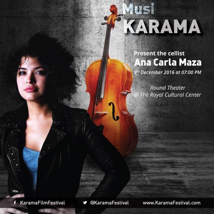 Ana Carla Maza Tour Dates