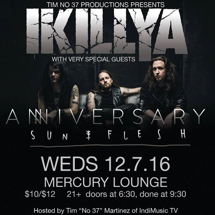 IKILLYA Tour Dates
