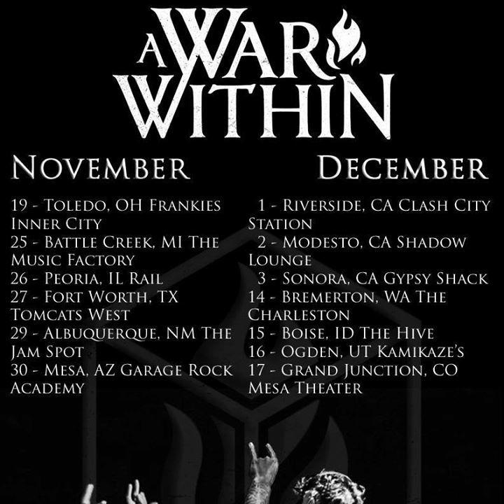 A War Within @ The Charleston - Bremerton, WA