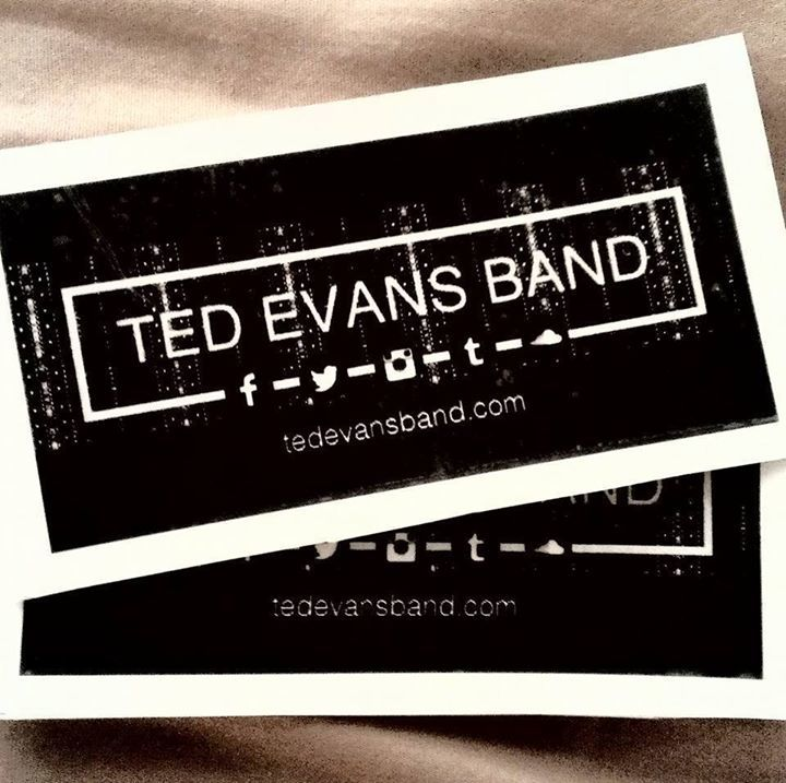 Ted Evans Band Tour Dates