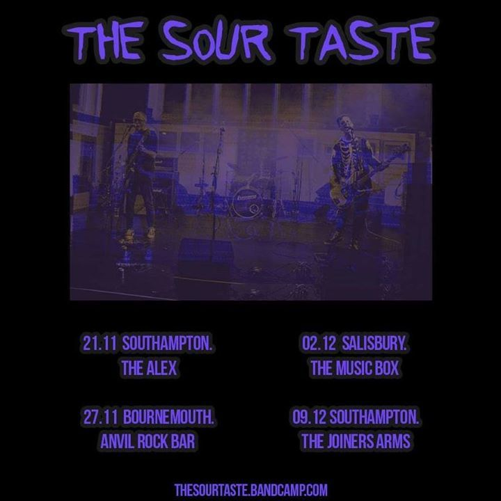 The Sour Taste Tour Dates