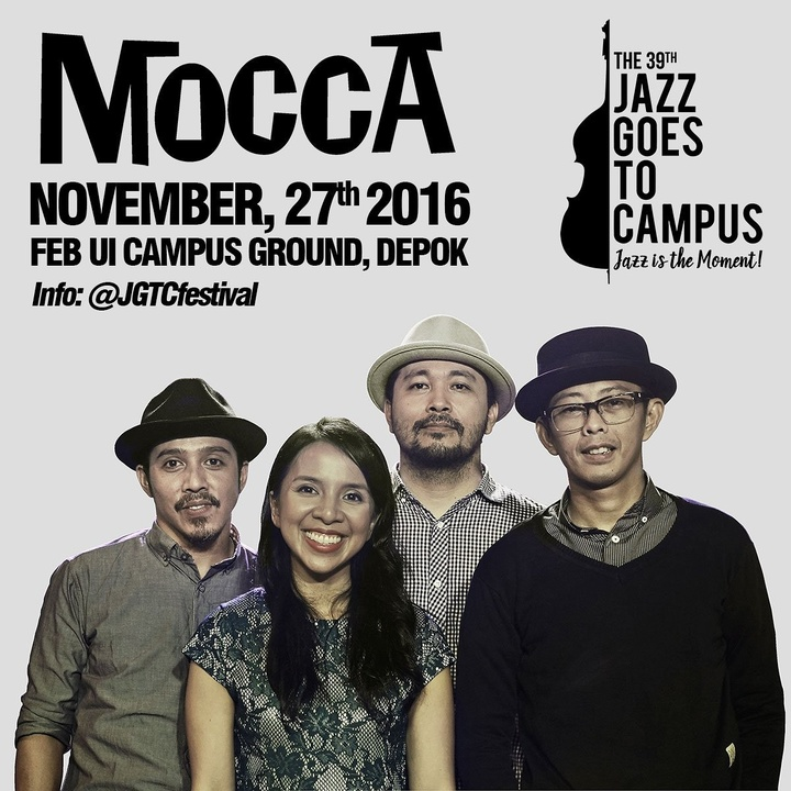 Mocca @ JGTC Festival - FEB UI Campus Ground - Depok, Indonesia
