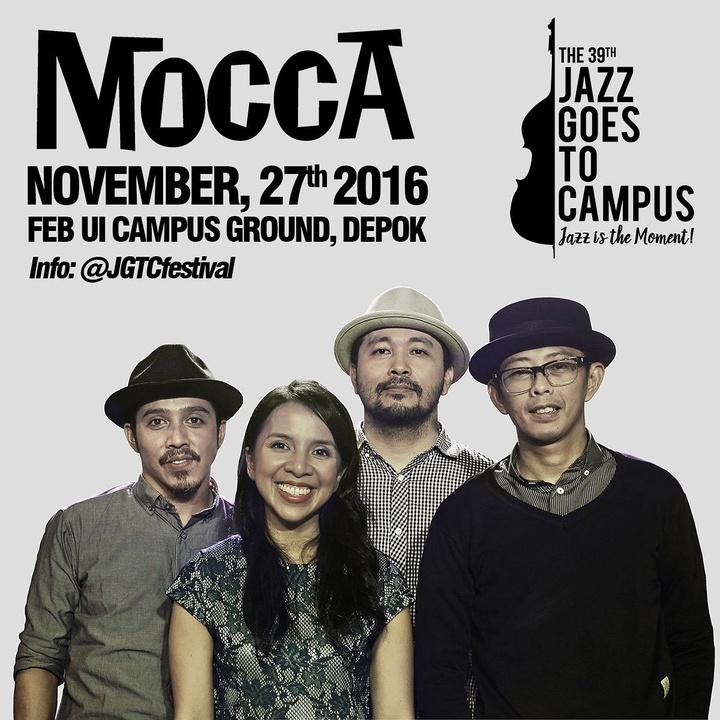 Mocca @ JGTC Festival - FEB UI Campus Ground - Depok, Indonesia