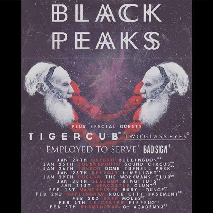 Two Glass Eyes Tour Dates