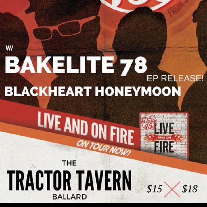 Blackheart Honeymoon Tour Dates