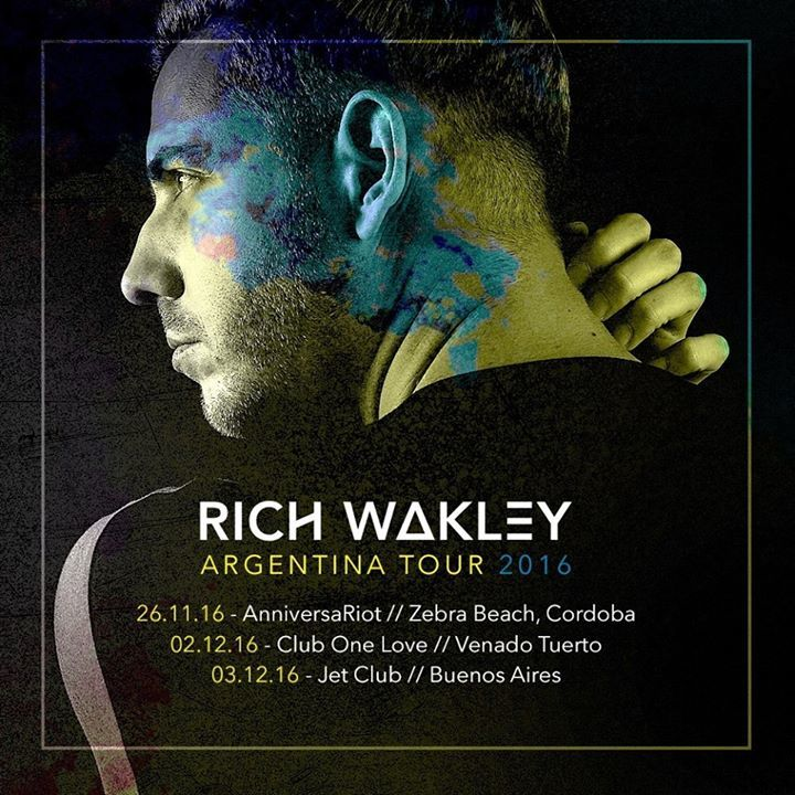 Rich Wakley Tour Dates