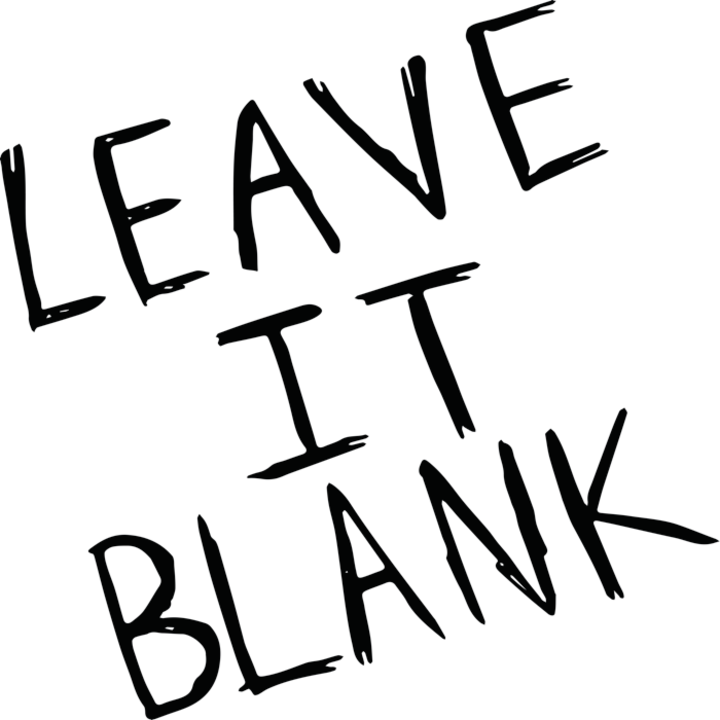 Leave It Blank Tour Dates