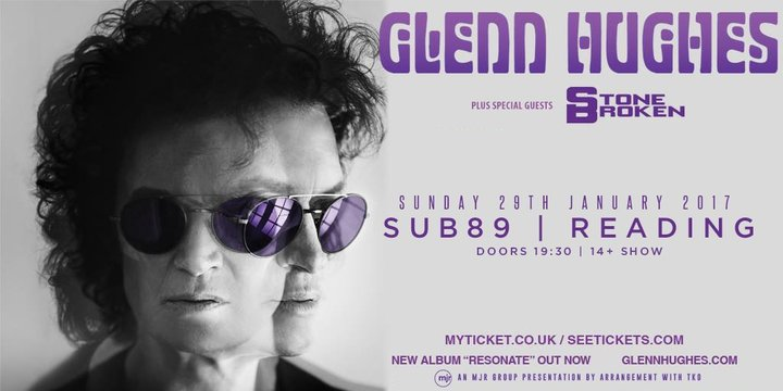 Glenn Hughes @ Sub 89 - Reading, United Kingdom