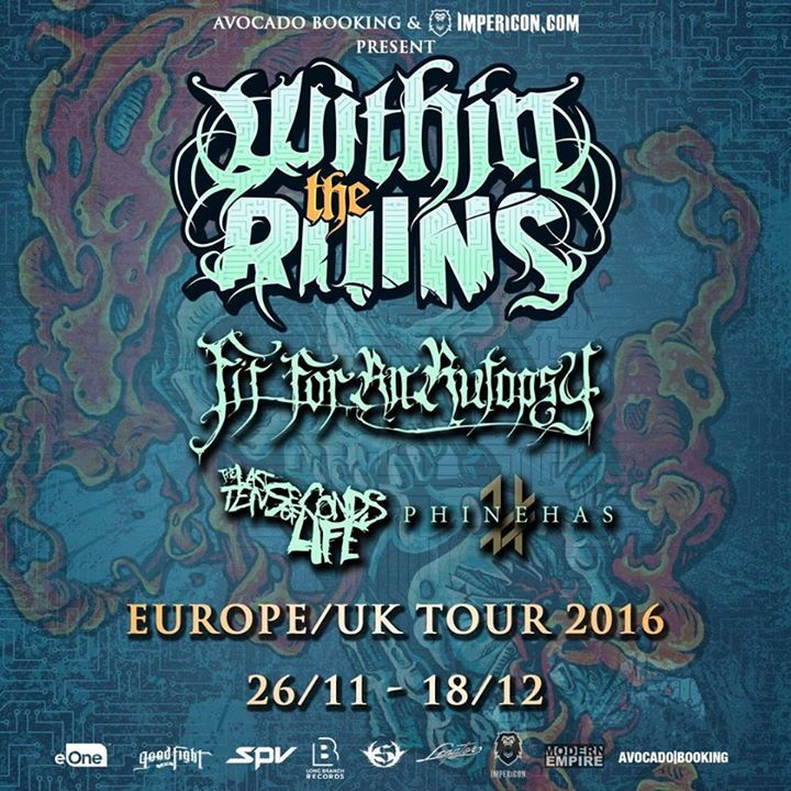 Within the Ruins @ G2 - Glasgow, United Kingdom