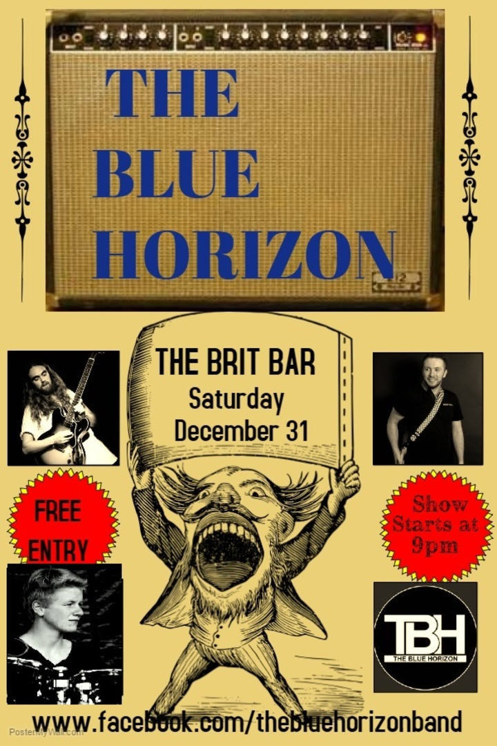 Iain Eccleston & The Blue Horizon @ The Brit Bar - Weston-Super-Mare, United Kingdom