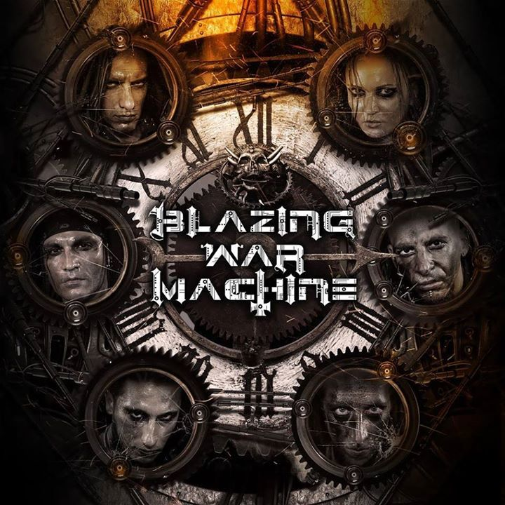 BLAZING WAR MACHINE Tour Dates