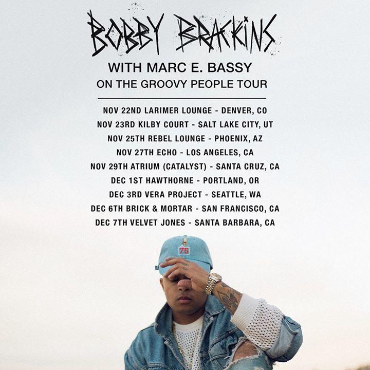 Bobby Brackins @ Brick And Mortar Music Hall - San Francisco, CA