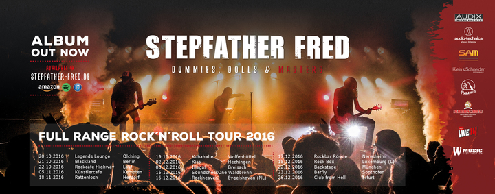 Stepfather Fred @ Rockcafe Kiss - Hechingen, Germany