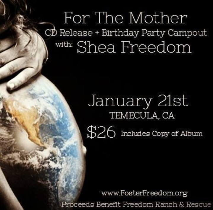 Shea Freedom Tour Dates