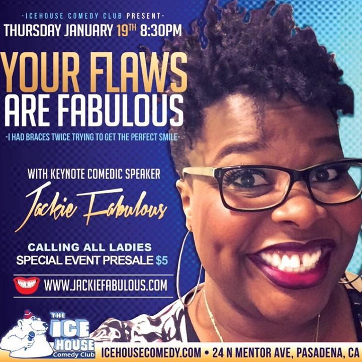Jackie Fabulous @ Westside Comedy Theater - Santa Monica, CA