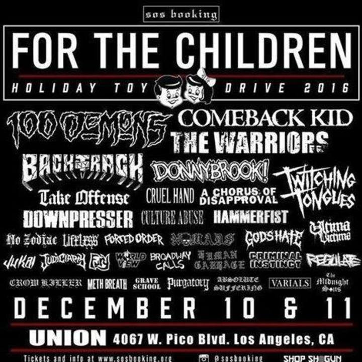Comeback Kid Tour Dates