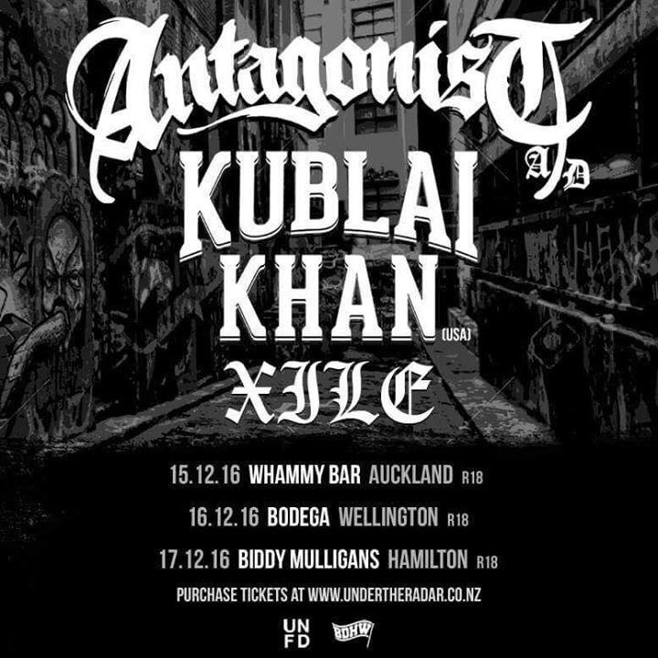 Antagonist A.D Tour Dates