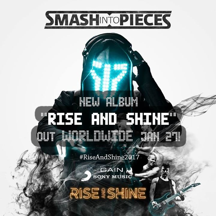 Smash Into Pieces @ Roxy - Flensburg, Germany