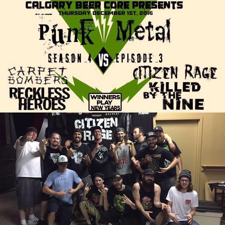 Citizen Rage Tour Dates