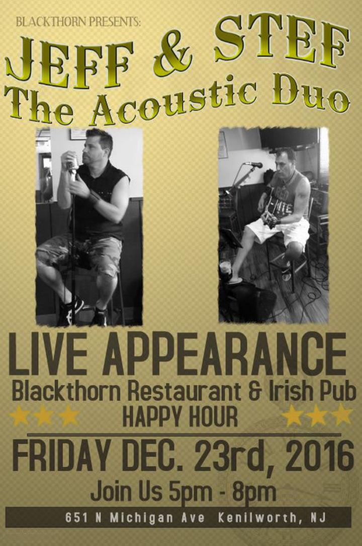 Jeff & Stef Acoustic Shit Show @ Blackthorn Restaurant & Irish Pub - Kenilworth, NJ