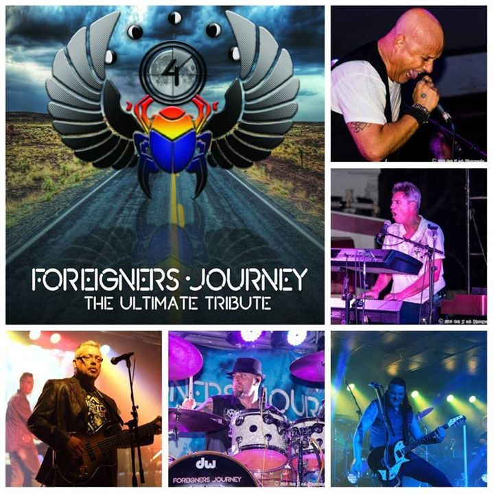 Foreigners Journey Tour Dates