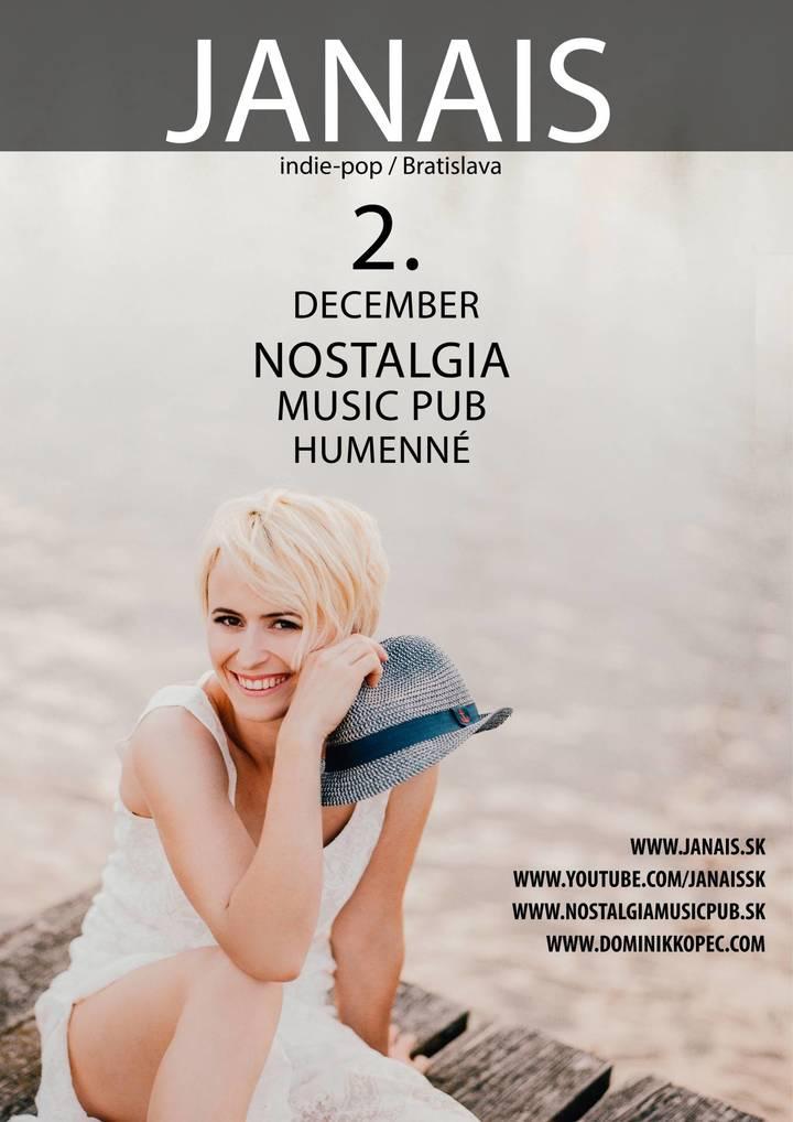 Janais @ NOSTALGIA MUSIC PUB - Humenne, Slovakia
