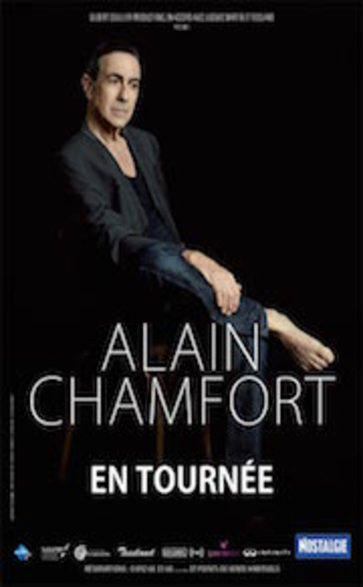 Alain Chamfort @ CASINO BARRIERE BORDEAUX - Bordeaux, France