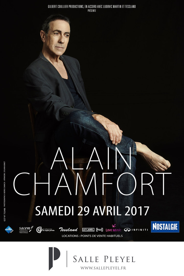 Alain Chamfort @ PLEYEL - Paris, France