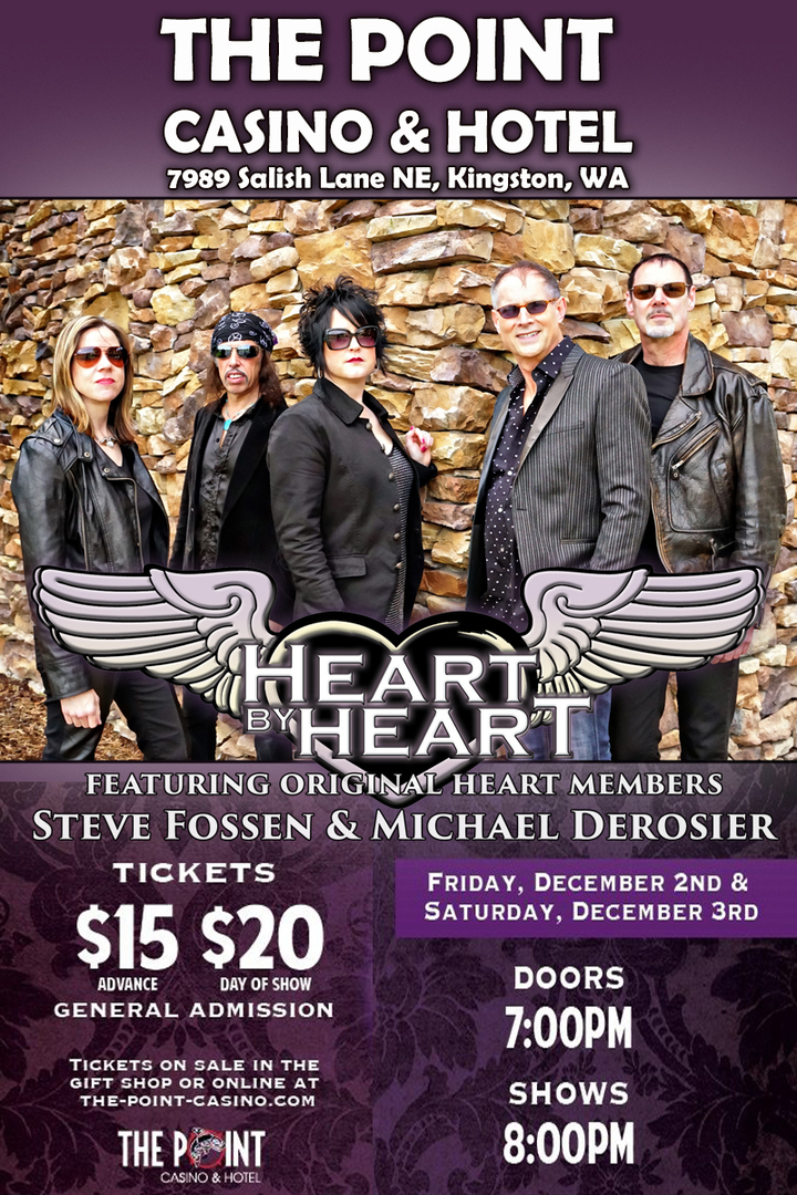 Heart By Heart @ The Point Casino - Kingston, WA