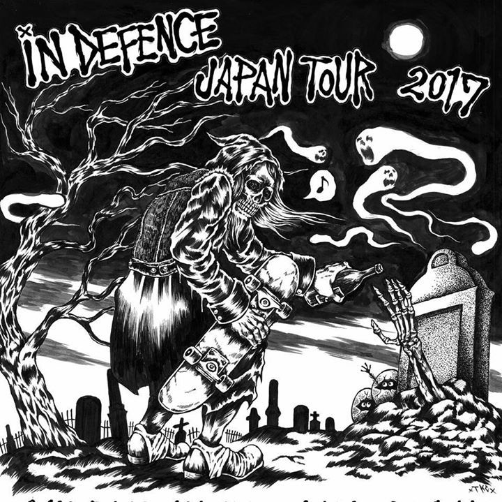 In Defence Tour Dates
