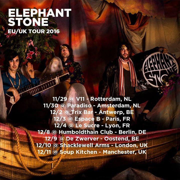 Elephant Stone Tour Dates