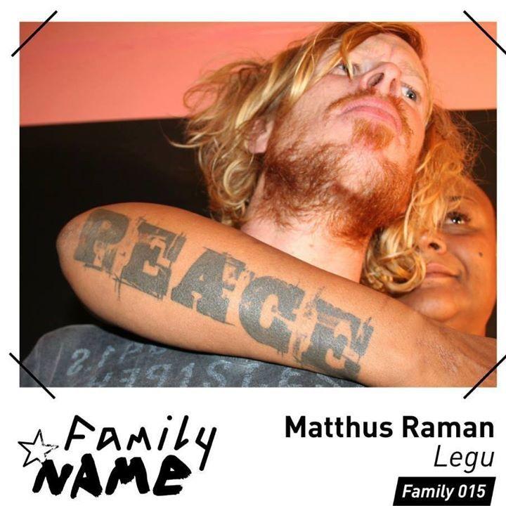 Matthus Raman Tour Dates