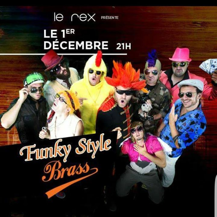 FUNKY STYLE BRASS Tour Dates