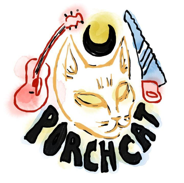 Porch Cat @ Anarres Infoshop - Portland, OR