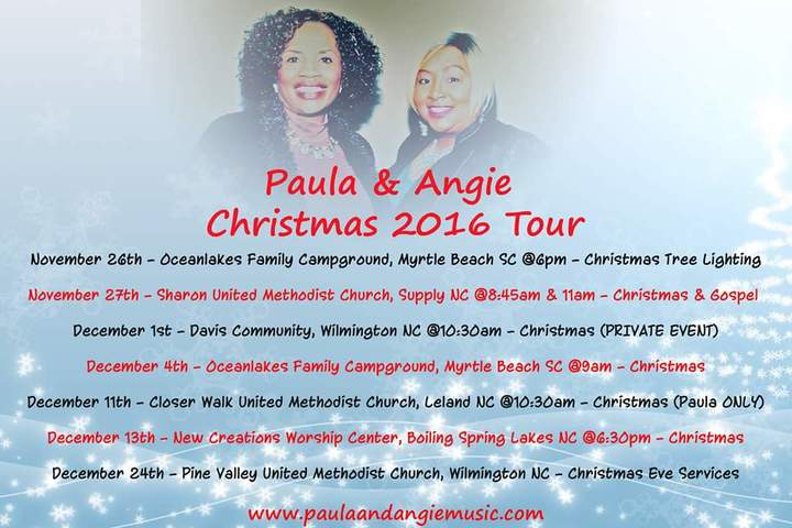 Paula & Angie @ Sharon UMC - Supply, NC