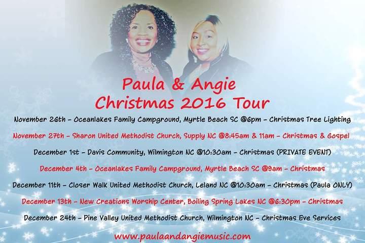 Paula & Angie @ Davis Community  - Wilmington, NC