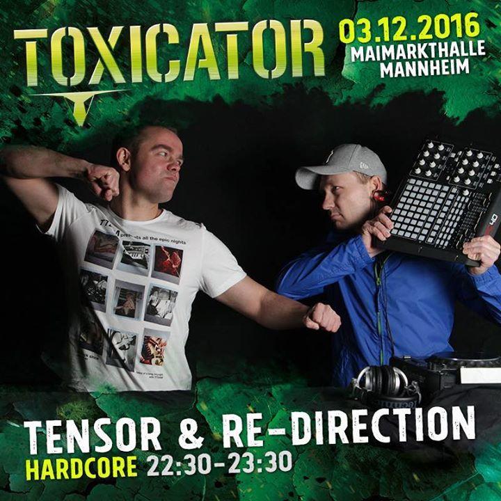 Tensor & Re-Direction Tour Dates