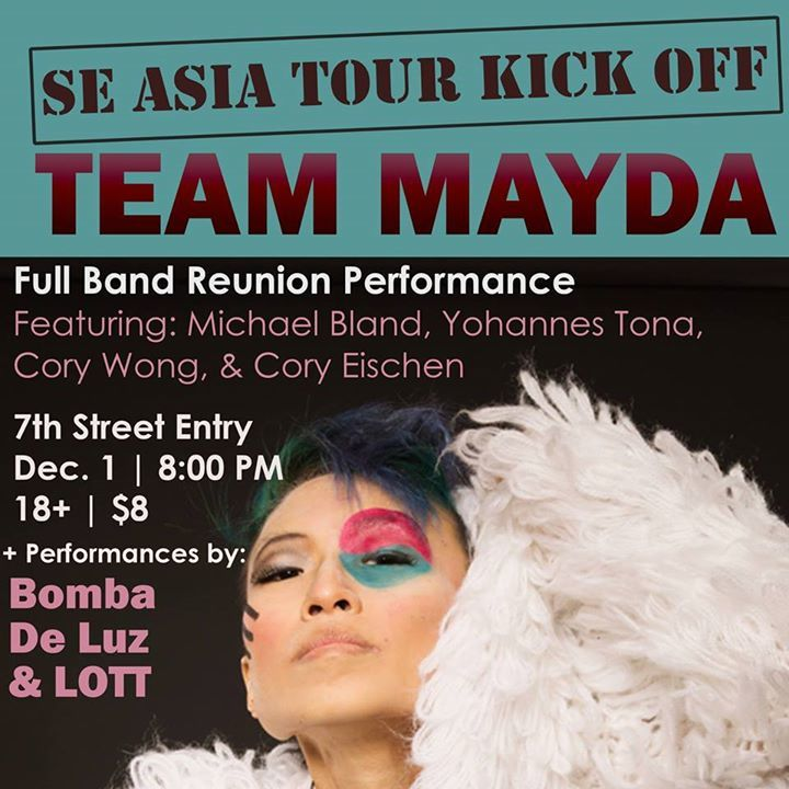 Mayda (Official Fan Page) @ First Avenue + 7th St. Entry - Minneapolis, MN