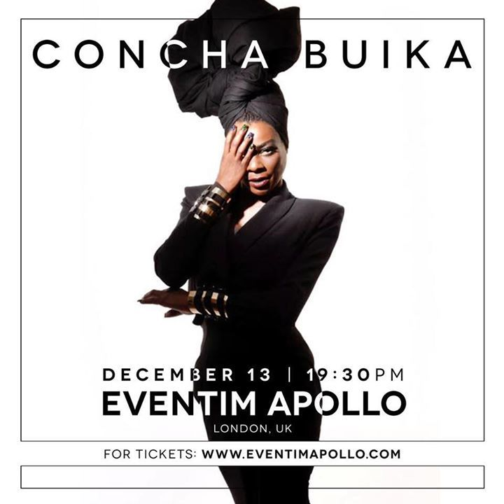 Concha Buika Tour Dates