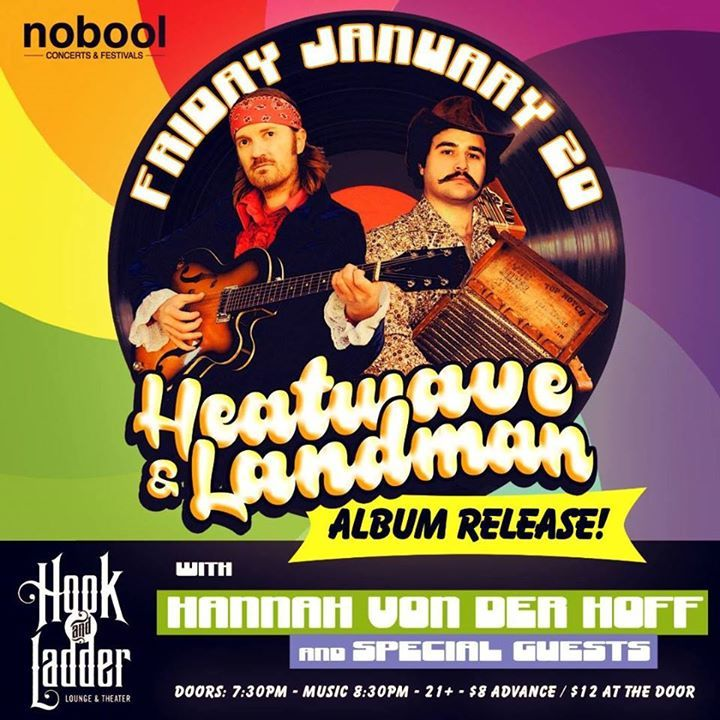 Heatwave & Landman Tour Dates