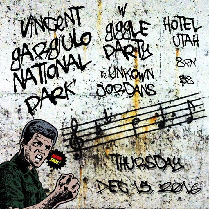 Vincent Gargiulo National Park Tour Dates