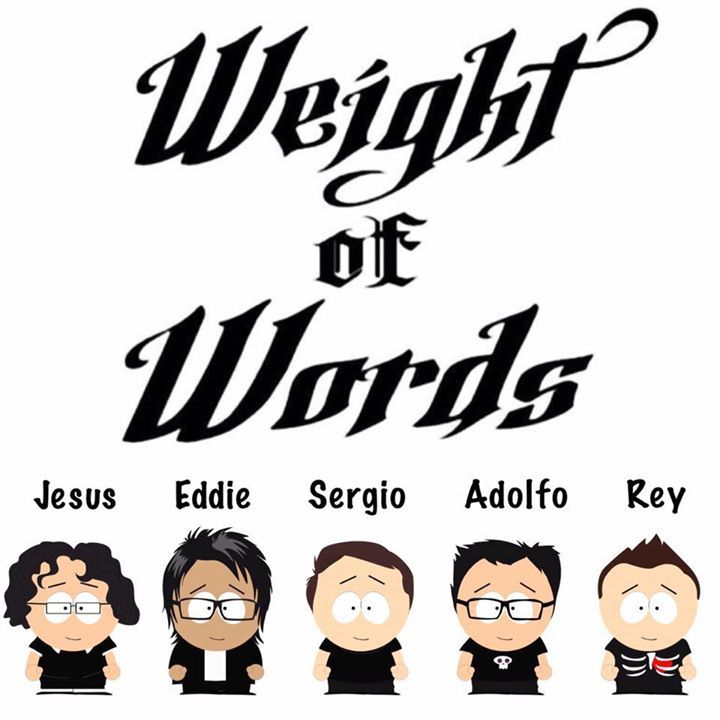 Weight of Words Tour Dates
