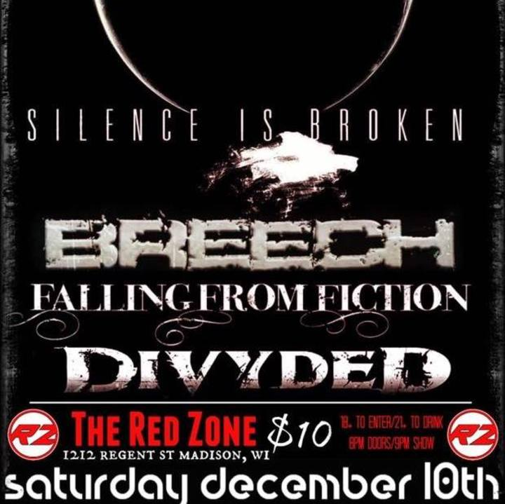 Silence is Broken @ The Red Zone - Madison, WI