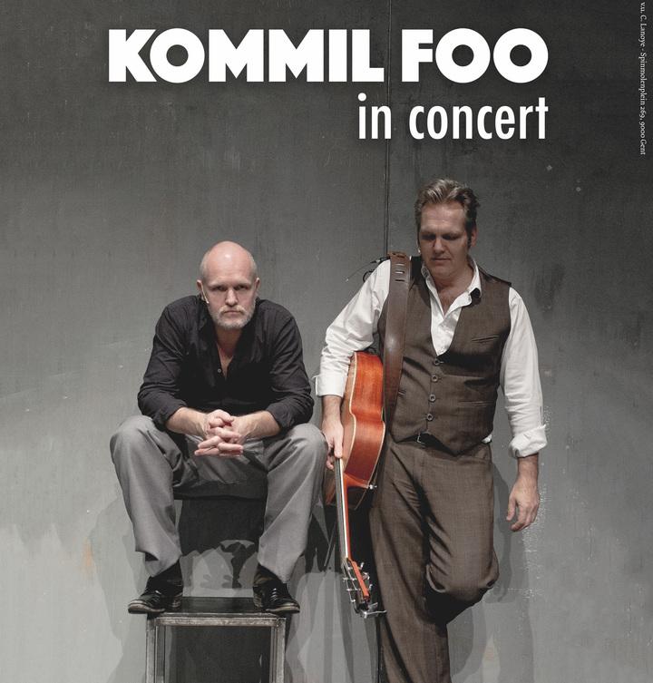 Kommil Foo @ De Roma - Antwerp, Belgium