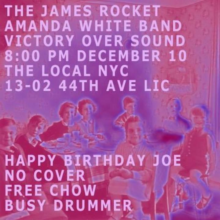 The James Rocket Tour Dates