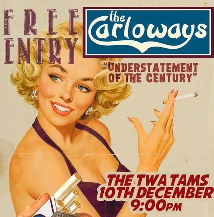 The Carloways Tour Dates