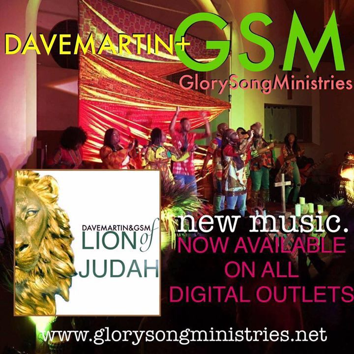 Dave Martin & Glory Song Tour Dates